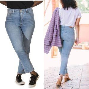 REVTOWN HIGH-RISE STRAIGHT Sunrise Indigo jeans 32